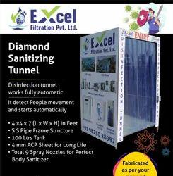 Sanitizing Tunnel, Size/Dimension: 4x4x7 (l X W X H)