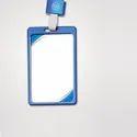 Metal Id Card Holder Pack Of 10 Blue Color