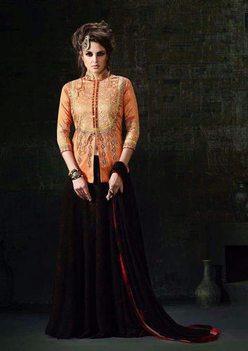 New Latest Designer Party Wear Indo Western Dress at Rs 1150  piece ... 0c081c48d