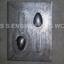 Areca Leaf Spoon Double Punch Die