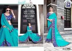 Rachna Georgette Sikha Catalog Saree Set For Woman 2