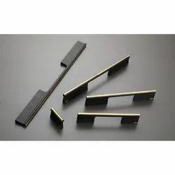 Aluminium Stylish Door Pull Handle, Size: 32-896 Mm(l), Antique Brass