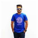 Round Neck Printed T Shirt