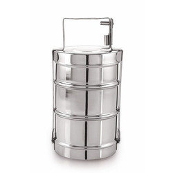 Stainless Steel Lunch Box In Indore Madhya Pradesh Stainless