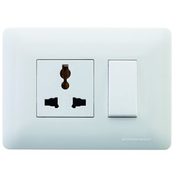 Polycarbonate Wipro North West Venia Switches, Finishing Type: Glossy Satin Finish