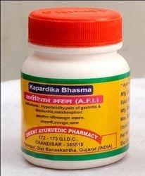 Karpardika ( Varatika) Bhasma