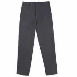 Poly Cotton School Uniform Pant, Size: M
