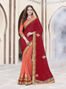 Embroidery Patch Work Saree