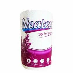 Plain White Neatex Kitchen Towels, Rectangular