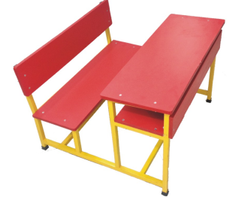 Primary Class Student Dual Desk