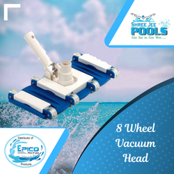 8 Wheel Vacuum Head