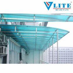 V-LITE Polycarbonate Shed