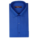 Solid Blue Color Formal Shirt