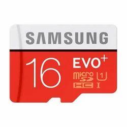 Samsung Memory Card EVO Plus 16 GB, Mobile Phones, Tablet, Smart Phone,etc.