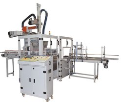 Carton Packing Machine for Filled Oil Bottle