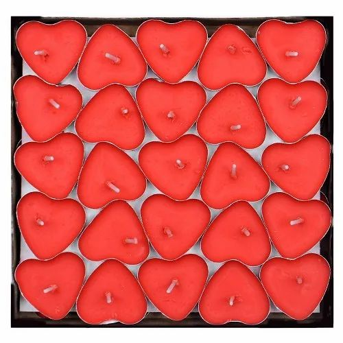 Heart Shape  Floating Candles DD412