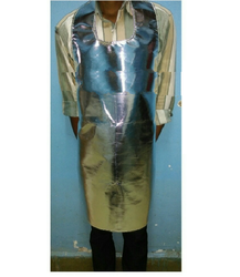 Bib Type Aluminized Apron