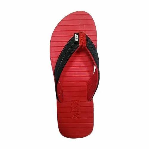 a4fc7b942ee36 EVA Daily Wear Mens Red Plain Flip Flop Slipper, Rs 80 /pair | ID ...