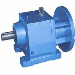 Blue Helical Gear Box