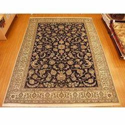 Black, Brown Hand Tufted Floor Carpet