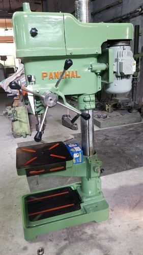 Panchal 250 Kg Electric Pillar Drill Machine With 1 HP Motor Power and Reverse Rotation