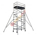 Aluminium Single Width Mobile Tower Scaffold