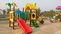 Playground Multi Play Slides