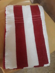 Cotton Strip colour's Bath Towel, For Bathroom, Size: 30*60* Inches