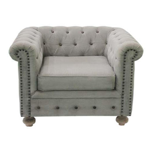 Leather Chesterfield Sofa Single Seater