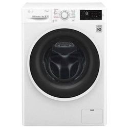 LG 8 kg Fully Automatic Front Load Washing Machine, F4J6TGPOW, White