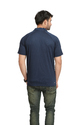 Adidas Men's Blue Collar T-Shirt