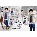 Denim Kids Suit, Size: Medium
