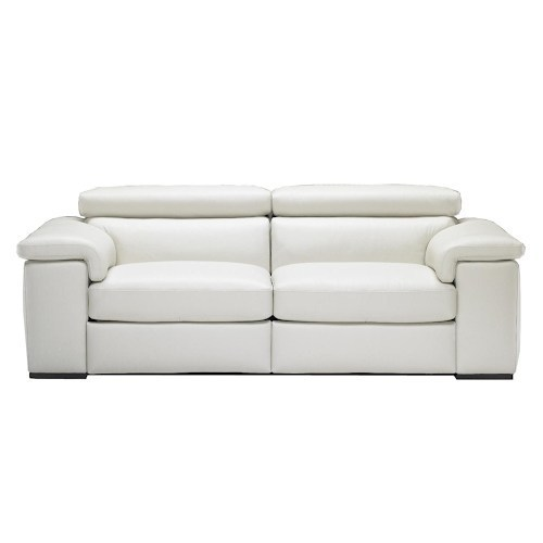 White Two Seater Sofa