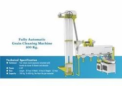 Fully Automatic Grain Cleaning Machine
