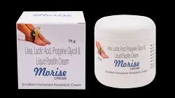 Urea, Lactic Acid, Propylene Glycol, Liquid Paraffin Cream ( Morise Cream)