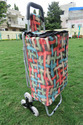 Shopping Trolley Bag - Rope - With Chair