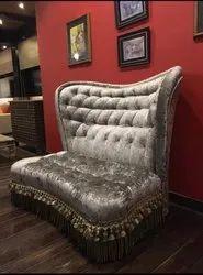 designer high back sofa chair