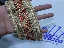 Zari Fancy Diamond Lace,适合西装&Kurti
