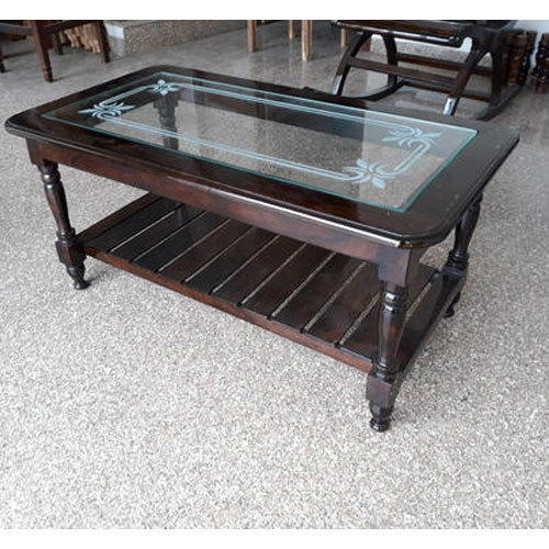 Living Room Wooden Center Table
