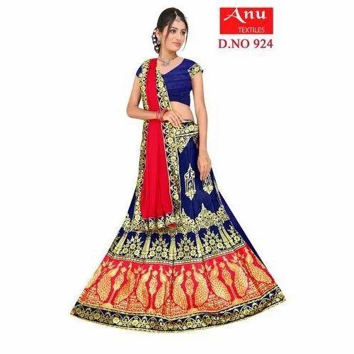 9a84585d4e Anu Textiles Semi-Stitched Ladies Stylish Lehenga Choli, Rs 1500 ...