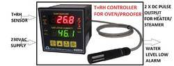 Temperature And Humidity Controllers For Oven Or Proofer