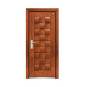 Hinged Brown Wooden Main Door