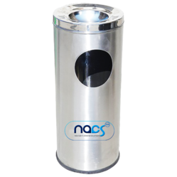Stainless Steel Ashtray Trash Bin