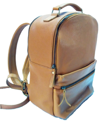 Run Well Leather Backpack