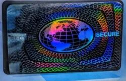 Secure Globe Holographic Overlay