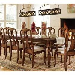 B-Brown Arts Counter Height 8 Seater Dinning Table