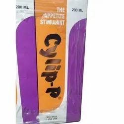 Syrup Cylip-P Stimulant, For Appetite Stimulation, Bottle Size: 200 Ml
