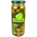 Euro Gold Green Pitted Olives