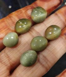 Green Cats Eye Stone