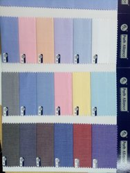 Male Poly Cotton Corporate And School Uniform Fabrics
